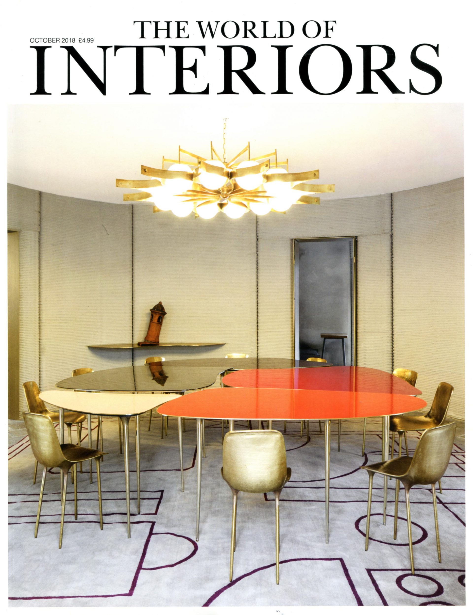 world of interiors october 2018 george spencer designs